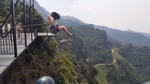 image balancoire-300-metres-haut-chine