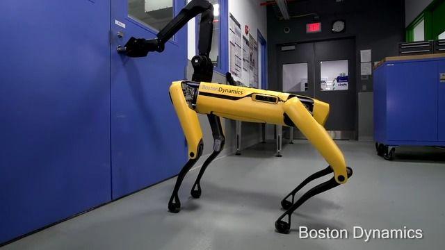 image robot-boston-dynamics-ouvrir-porte