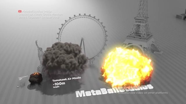 image comparaison-taille-explosions-bombes
