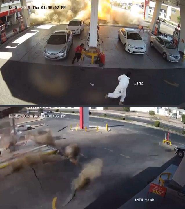 image cuve-stockage-essence-explose-sous-terre