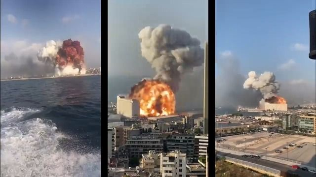 image explosion-beyrouth