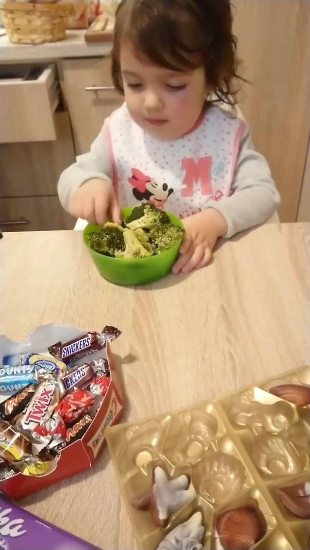 image fillette-brocoli-chocolat