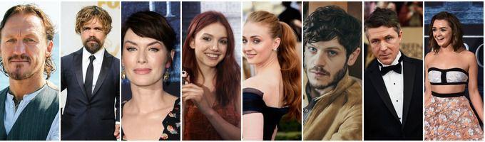 Les Acteurs De Game Of Thrones Au Debut De La Saison 1 Et A La Fin De La Saison 6