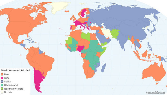 carte-monde-consommation-alcool-pays