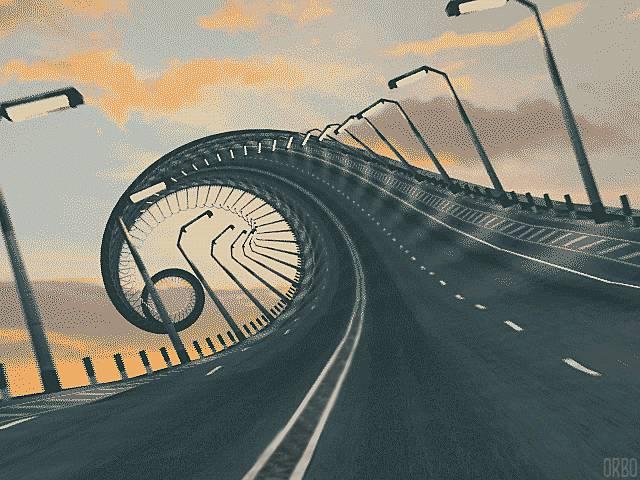 autoroute-infinie-spirale
