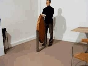 une-table-pliable