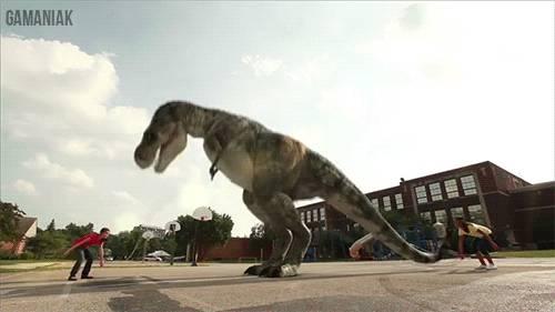 dinosaure-trex-saute-corde