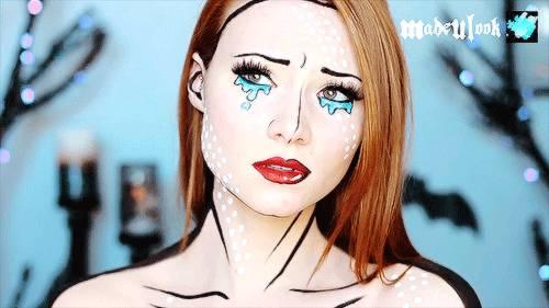 maquillage-dessin-anime