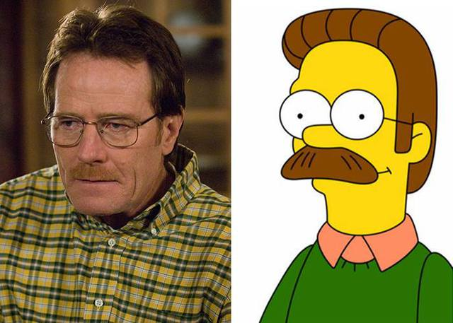 sosies-personnages-fictifs-ned-flanders-walter-white