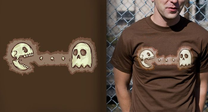 tshirts-gamers-pacaman