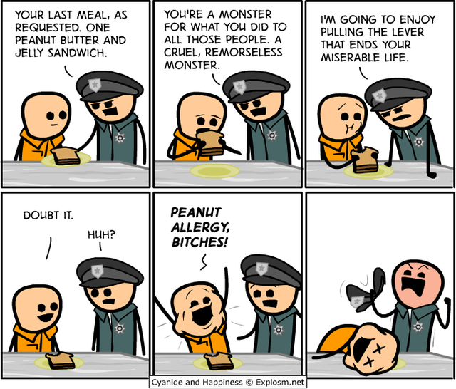 condamne-mort-allergie