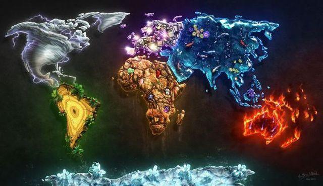 elements-continents