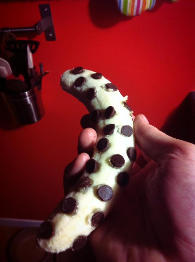 banane-aux-pepites-chocolat