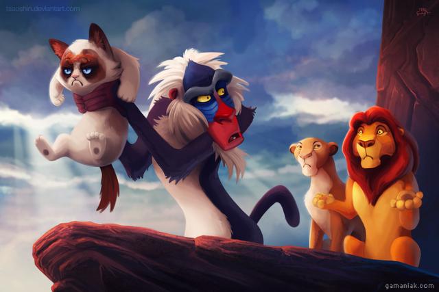 roi-lion-grumpy-cat