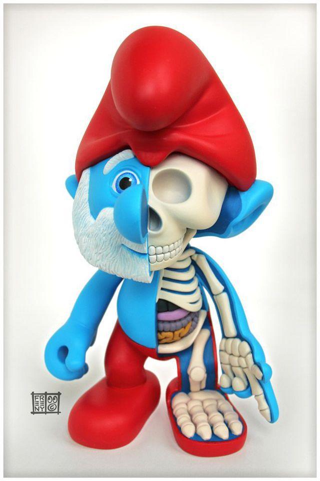 grand-shctroumpf-squelette
