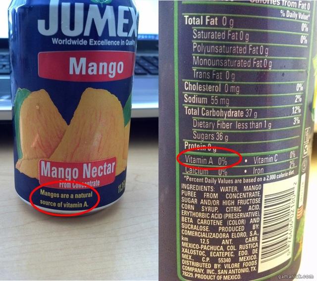 vitamine-a-mangue