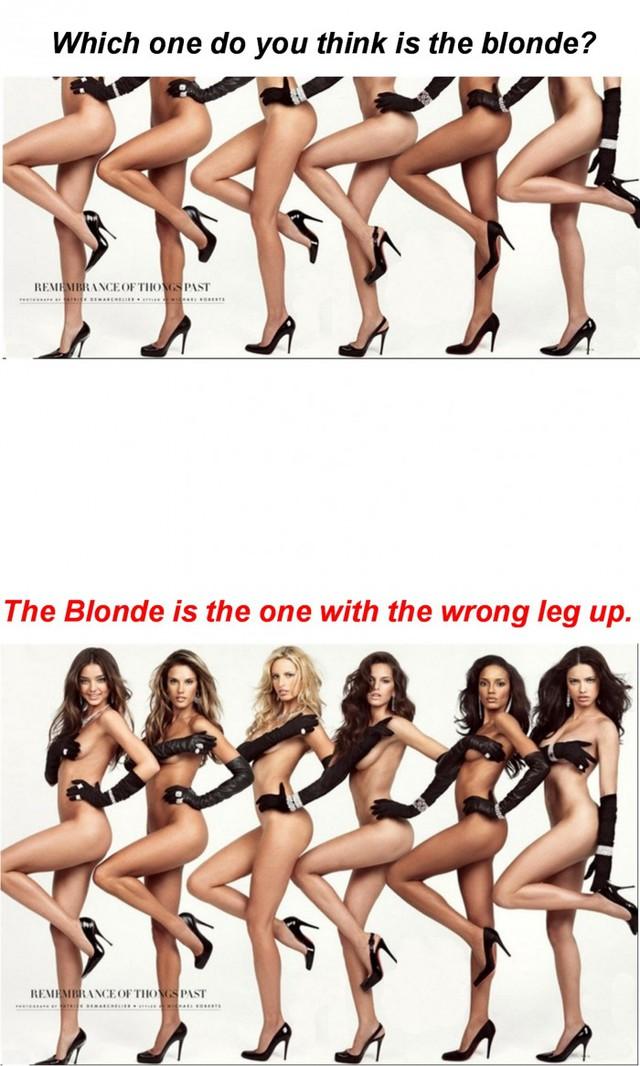 trouvez-jambe-blonde