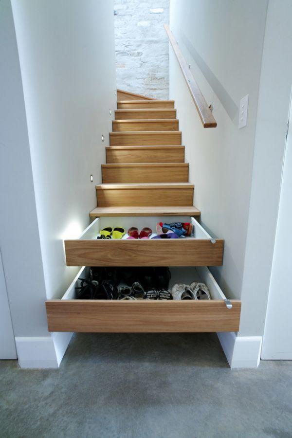 escaliers-tiroirs