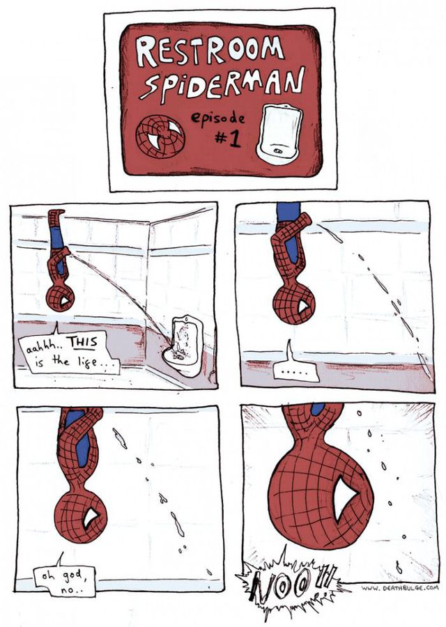 spiderman-fait-pipi-plafond