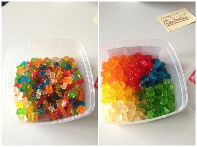 separer-bonbons-ours-couleur