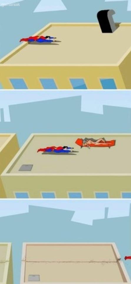 superman-fille-seins-nus-toit