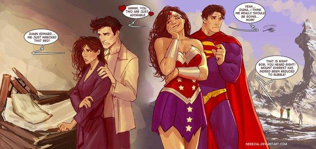 partie-jambes-lair-edward--bella--wonderwoman--superman