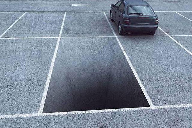 place-parking-vide