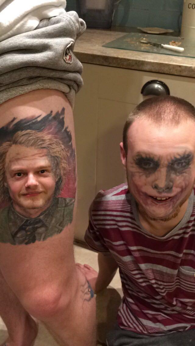 face-swap-tatouage-joker