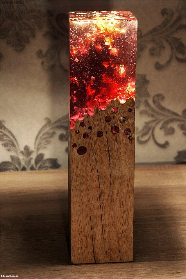 lampe-bois-verre-acrylique-effet-brulant