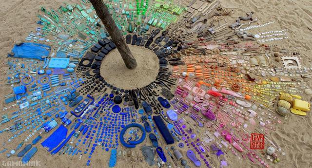 dechets-plage-organises-couleur