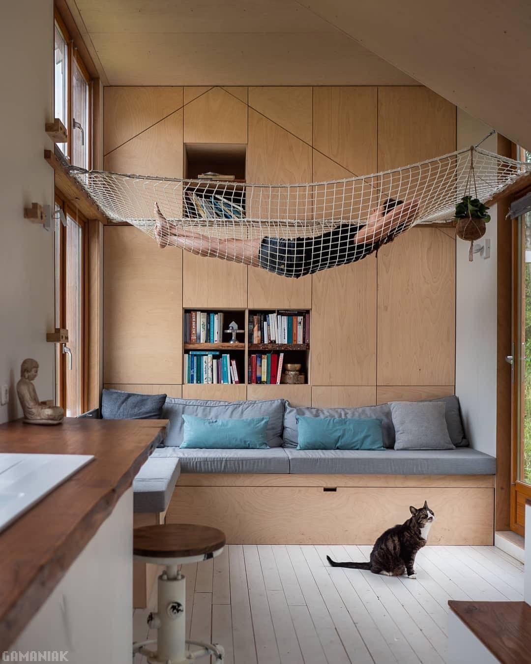 Chambre hamac chat Hamac chambre