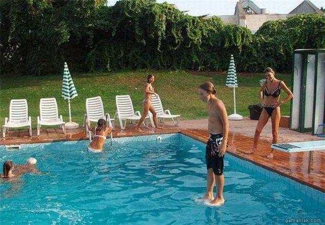marcher-eau-piscine