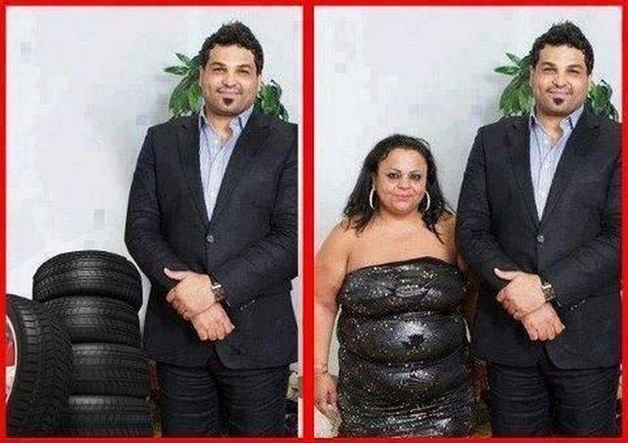 femme-pile-pneus