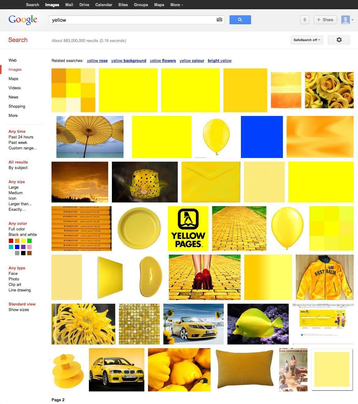 yellow-yellow-yellow-blue