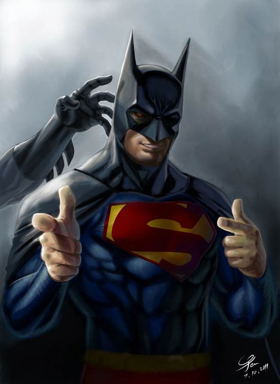 superman-avec-costume-batman