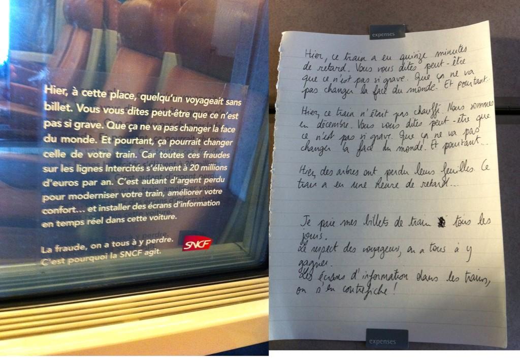 Image L'arroseur arrosé à la SNCF